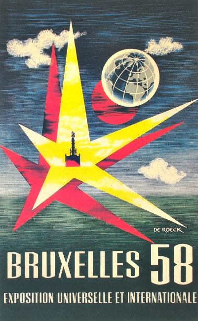 Brussels Worlds Fair 1958 De Roeck