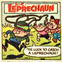 Lucky Leprechaun Lucky Charms Cereal comic