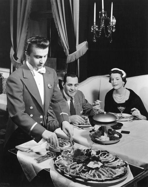 vintage restaurant 1950s