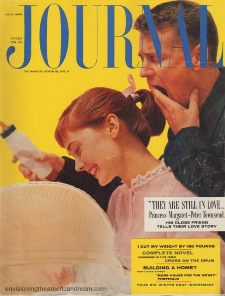 Vintage Magazine cover Ladies Home Journal