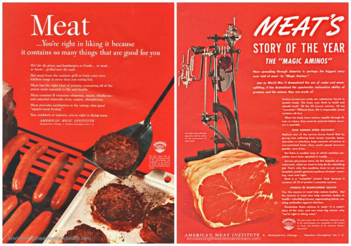 Vintage Ads American Meat Industry