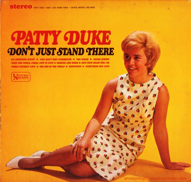"Patty Duke Album Cover ""Don't Just Stand There"" 1965"