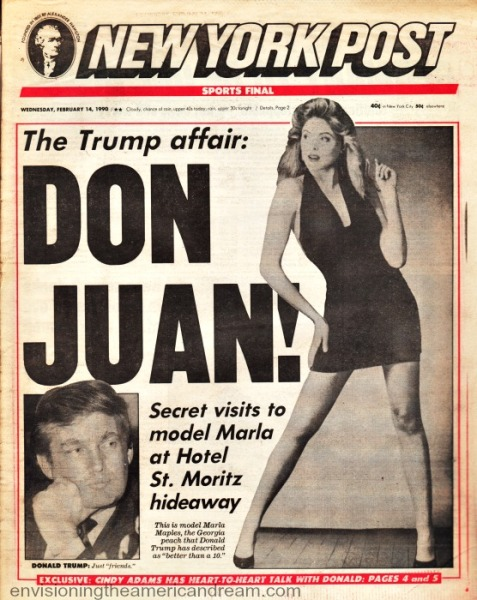 Trump Don Juan NY Post 1990