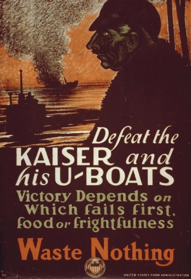 WWI Defeat kaiser waste nothing