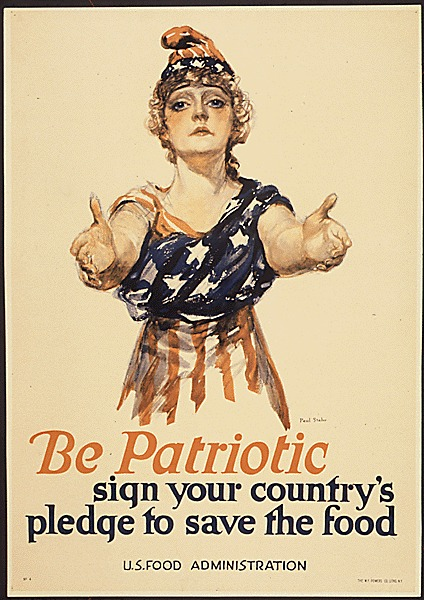 WWI Food Conservation be-patriotic