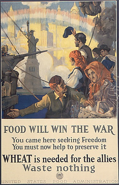 WWI Food Conservation Immigrants food-win-war