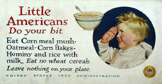 WWI food Conservation Little Americans Do Your Bit
