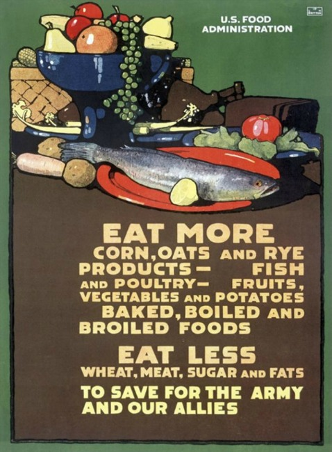 WWI Food Conservation Poster