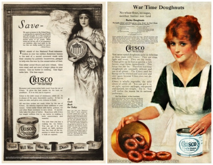 WWI Food Crisco