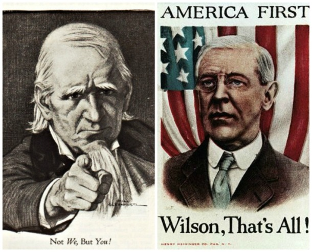 WWI Patriotism Uncle Sam Wilson