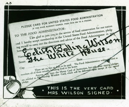 WWI Pledge Card Food_Administration_Pledge_Card