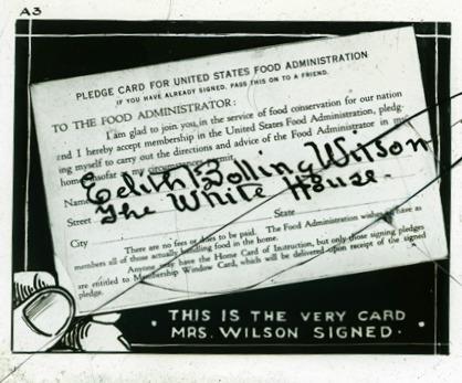 WWI Pledge Card Food_Administration_Pledge_Card