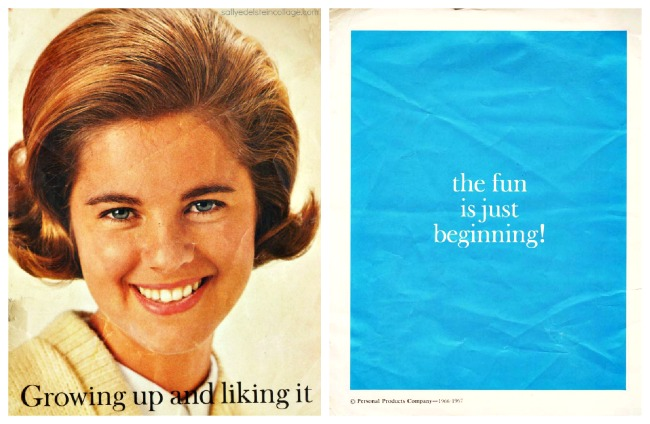 Growing up liking it Menstruation booklet 1960s