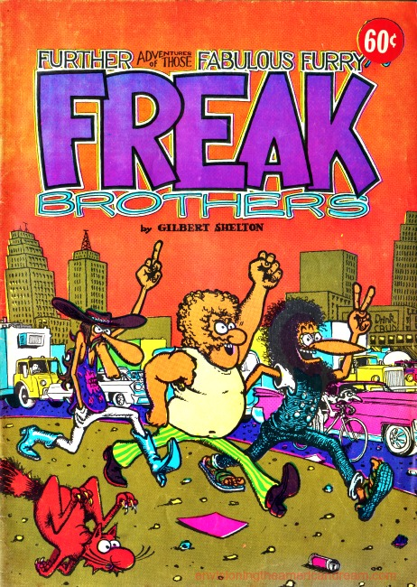 Vintage alternative comic book 1970s Fabulous Freak Brothers