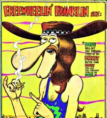 Vintage alternative Comics Freak Brothers Freewheelin Franklin 1972