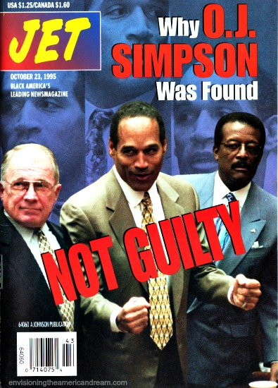 OJ Trial Jet Magazine 1995 Not Guilty