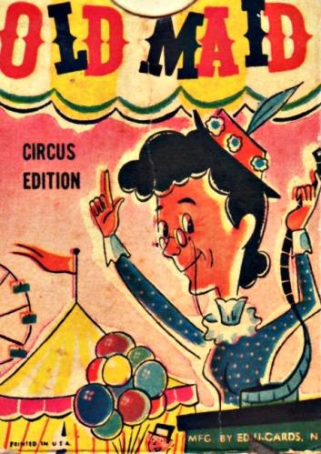 illustration Old Maid card