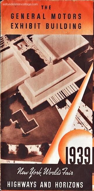 1939 Futurama Highways and horizons brochure