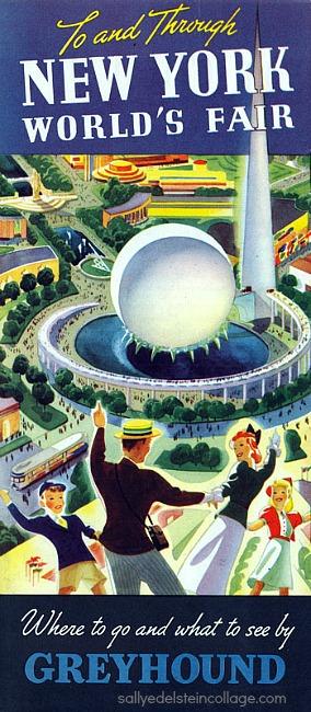 1939 Worlds Fair greyhound brochure