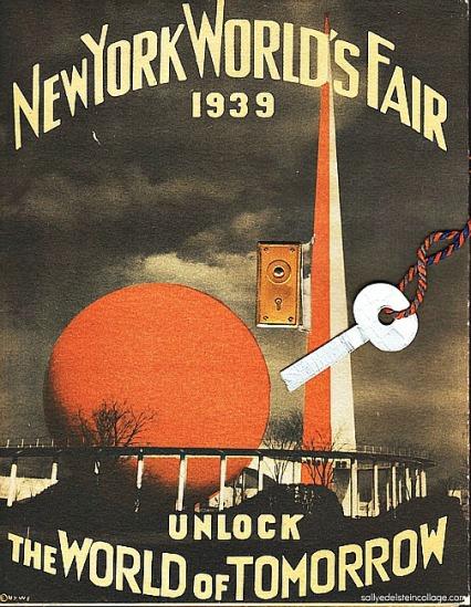 1939 NY worlds fair world of tomorrow booklet