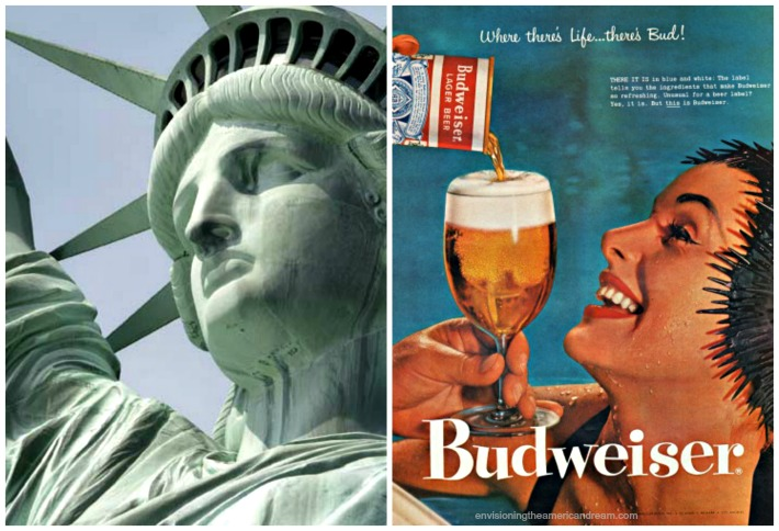 Beer Budweiser Statue of Liberty