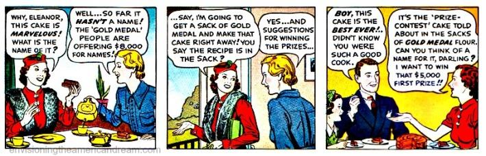 vintage cartoon 1930s housewives