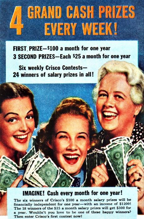 contest 38 Crisco grand prize