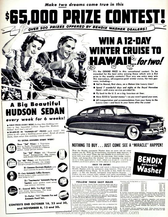 Contest 1948 Bendix