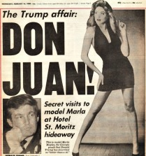 NY Post Headline Don Juan