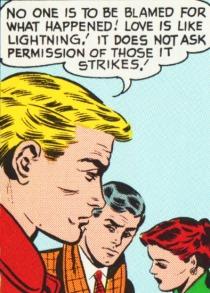 vintage love comics