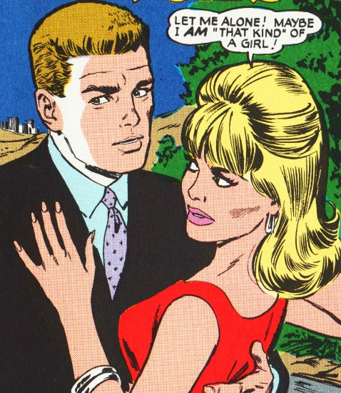 Vintage Romance Comic Books