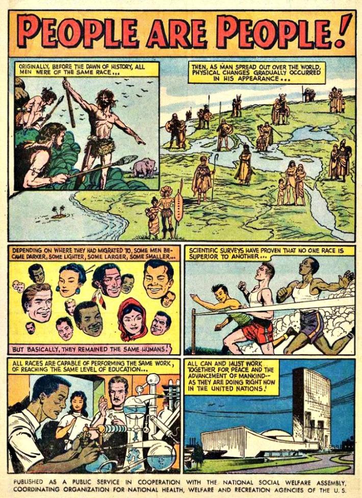 Comics People are People PSA