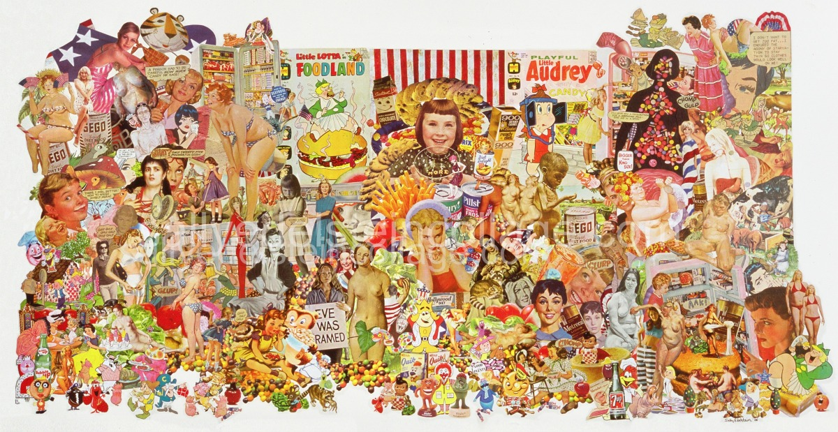 Collage Sally edelstein Constant Cravings