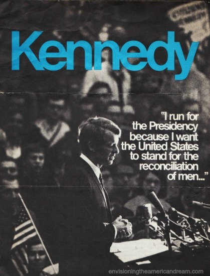 Kennedy RFK campaign 1968