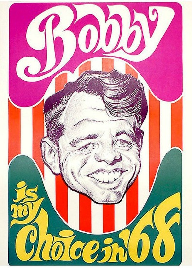 Robert Kennedy Campaign poster 1968