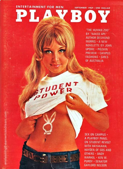 Playboy Magazine Sept 1969