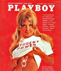 Playboy magazine sex on Campus 1969