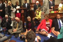 Congress sit in