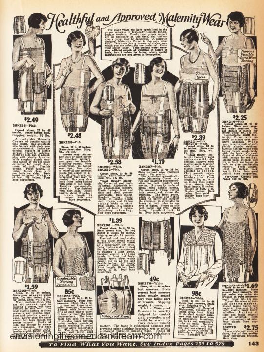 1926 Maternity Wear