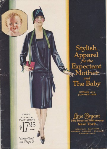 1928 Lane-Bryant-catalog maternity-clothing