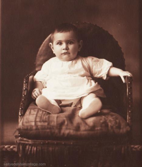 vintage photo baby 1920s