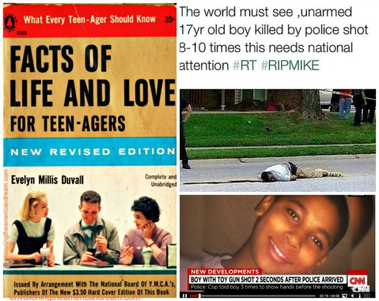 Black Lives Matters and The Facts of Life collage