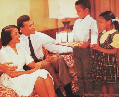 Black Family at Home 1960s