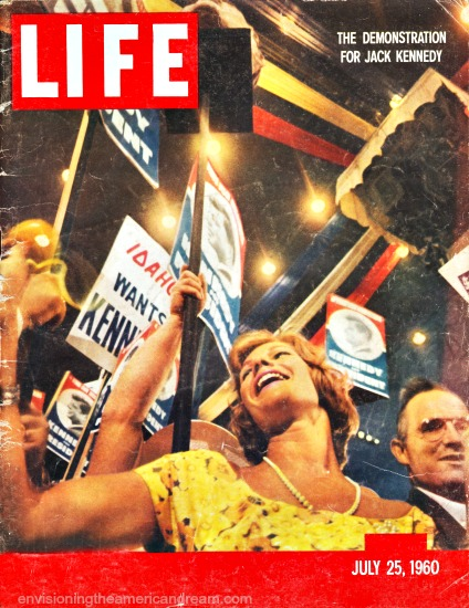 1960 Democratic Convention Life Magazine cover