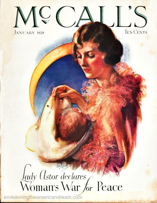 vintage McCalls Magazine 1928