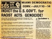 SDS Democratic Convention 1972