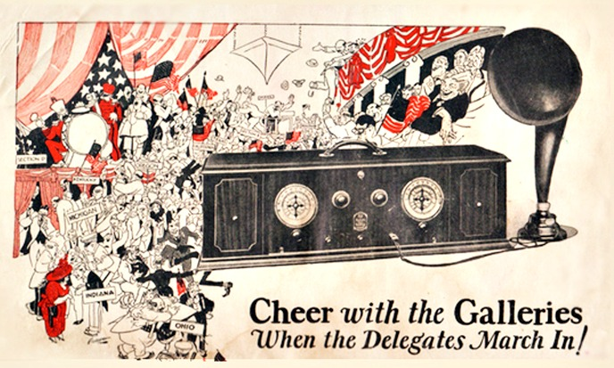 Vintage ad Radio News 1924