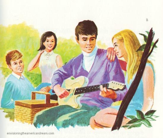 Vintage Ilustration Teens