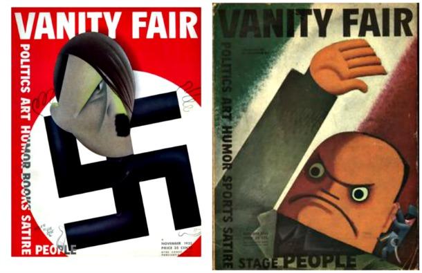Vanity Fair Hitler Mussolini 1932 Fascism