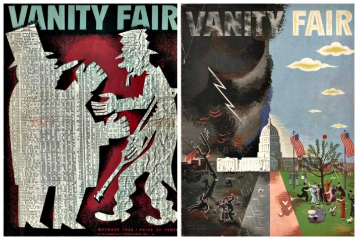Vanity Fair Covers 1933